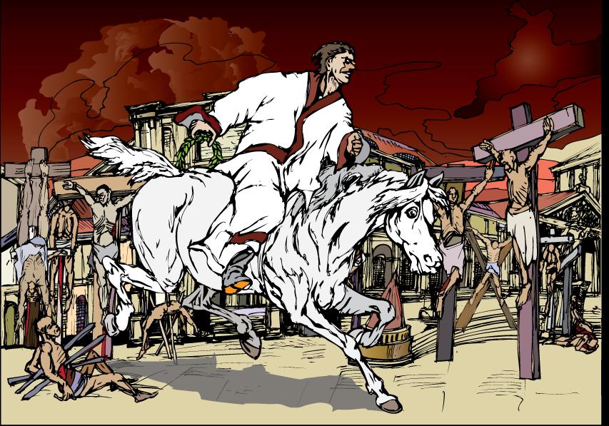 Pierwszy Jeździec Apokalipsy?